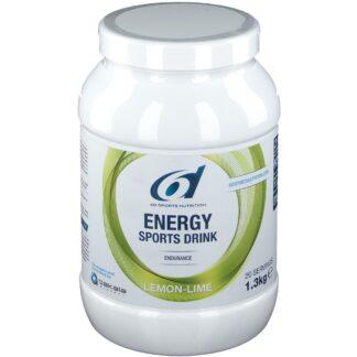 6D Sports Nutrition Energy Sports Drin Zitrone-Limette
