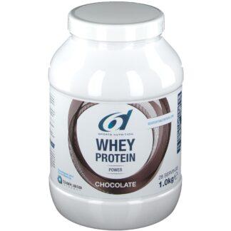 6D Sports Nutrition Whey Protein Power Schokolade