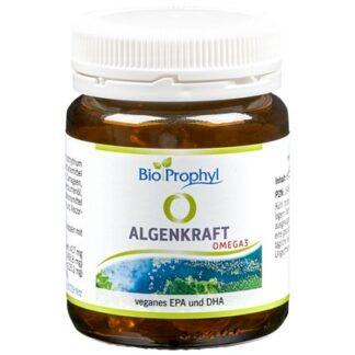 BioProphyl Algenkraft 60 Kapseln mit 60 mg EPA und 125 mg DHA aus 417 mg Algenöl
