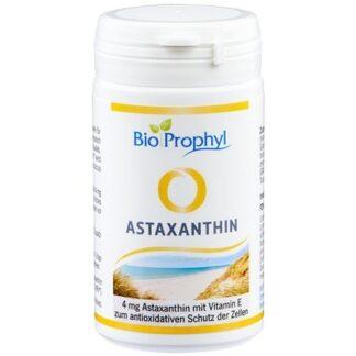BioProphyl Astaxanthin 4 mg 60 pflanzl. Kapseln mit 4 mg Astaxanthin aus Haematococcus pluvialis
