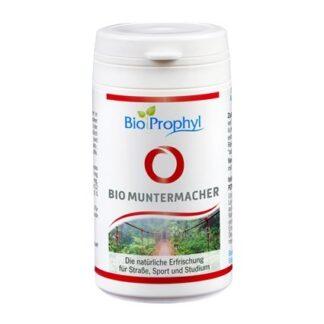 BioProphyl BIO Muntermacher 50 Kapseln mit Guarana, Maca und Acerola aus kontrolliert ökologischer Landwirtschaft, DE-ÖKO-013