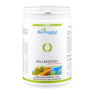 BioProphyl Ballaststoff Vital Komplex 30 Portionen à 20 g Pulver mit Fibersol®, Chia, Beta Glucan, Acai, Goji und Spirulina