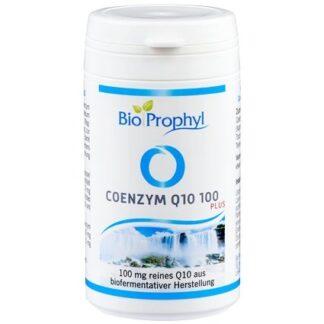 BioProphyl Coenzym Q10 100 plus 60 pflanzliche Kapseln à 100 mg Coenzym Q10 aus fermentativer Herstellung