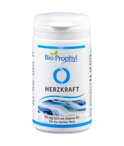 BioProphyl Herzkraft 60 pflanzliche Kapseln mit 50 mg Coenzym Q10, Magnesium und Vitamin B1