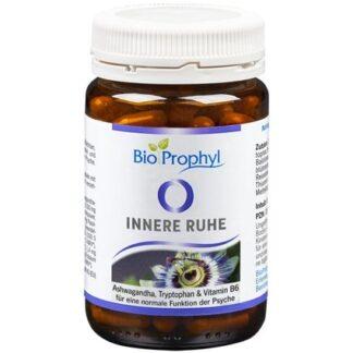 BioProphyl Innere Ruhe 60 pflanzliche Kapseln mit Ashwagandha, Tryptophan und B-Vitaminen