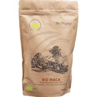 BioProphyl Maca BIO 500 g Macawurzelpulver aus kontrolliert biologischem Anbau, DE-ÖKO-013