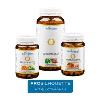 BioProphyl ProSilhouette® Programm Produktprogramm mit ProSilhouette Tag, Glucomannan und ProSilhouette Nacht