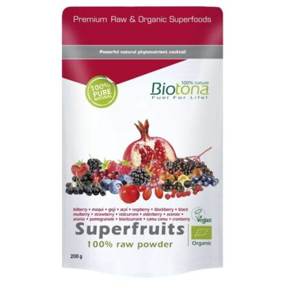 Biotona Superfruits Raw Powder
