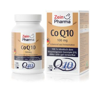 Coenzym Q10 Kapseln 100 mg ZeinPharma