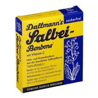 DALLMANNS® Salbeibonbons zuckerfrei