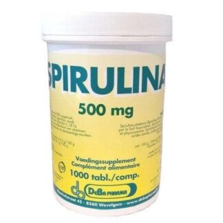 DeBa Pharma Spirulina 500 mg