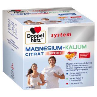 Doppelherz® system MAGNESIUM + KALIUM CITRAT Granulatbeutel