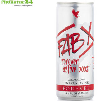 FAB X active boost Energydrink - kalorienfrei mit Aloe Vera (forever)