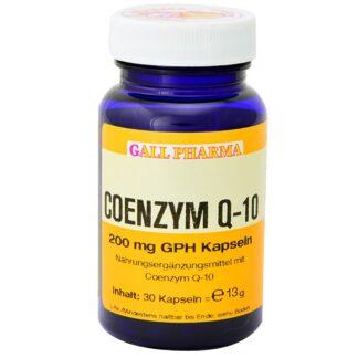 GALL PHARMA Coenzym Q-10 200 mg GPH Kapseln