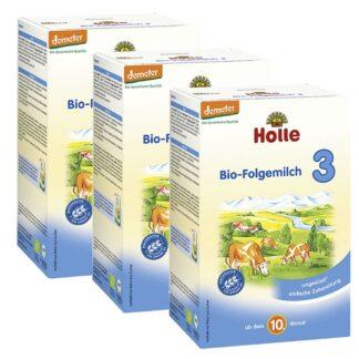 Holle Bio-Folgemilch 3 Dreierpack