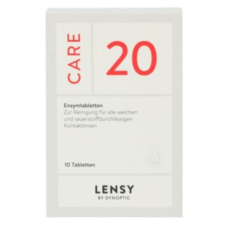 Lensy Care 20, 10 Tabletten