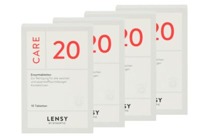 Lensy Care 20, 4 x 10 Tabletten