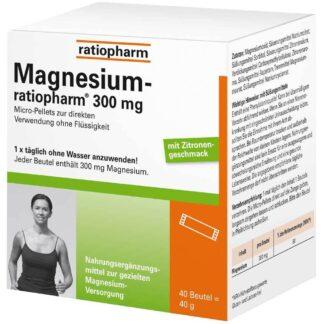 Magnesium-ratiopharm® 300 mg mit Zitronengeschmack