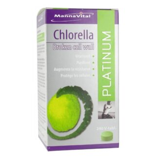 MannaVital Platinum Chlorella