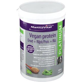 MannaVital VEGAN PROTEIN Erbsen + Reis PLATINUM