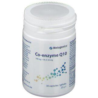 Metagenics® Co-enzyme Q10 100 mg + Vitamin E 30 mg