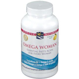 NORDIC NATURALS® OMEGA WOMAN® essentielle Fettsäuren mit Zitronengeschmack