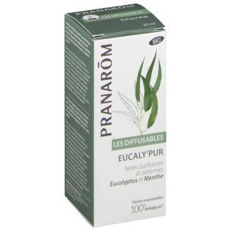Pranarom Les Difusables Eucaly'Pur Ätherisches Öl Bio Eukalyptus Minze