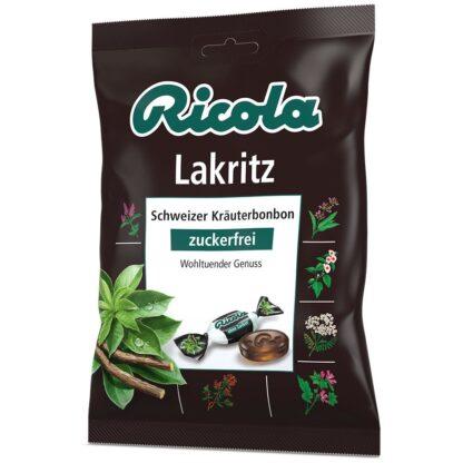 Ricola® Schweizer Kräuterbonbon Lakritz zuckerfrei
