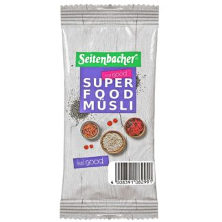 Seitenbacher® Superfood Müsli Portionsbeutel