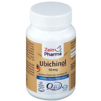 Ubichinol Coenzym Q10 Kapseln 50 mg ZeinPharma