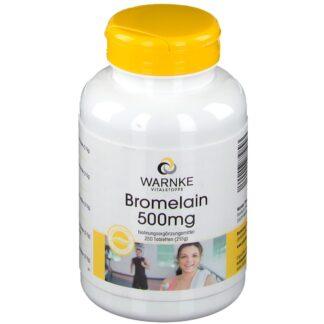 WARNKE Bromelain 500 mg