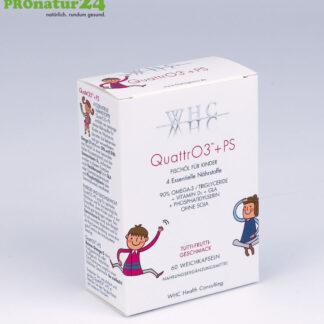 WHC QUATTRO3 + PS - Fischölkomplex OMEGA 3 FÜR KINDER