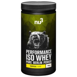 nu3 Performance Iso Whey, Tropical