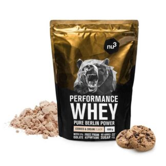 nu3 Performance Whey, Cookies-Cream - Proteinpulver