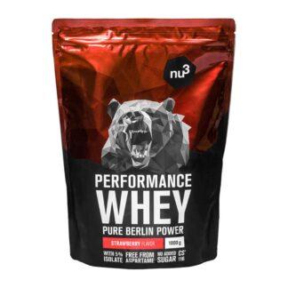 nu3 Performance Whey, Erdbeere - Proteinpulver