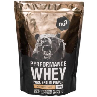 nu3 Performance Whey, Iced Coffee - Proteinpulver
