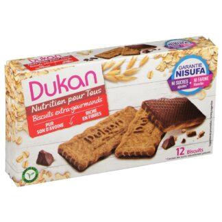 Dukan® Haferkleie Kekse mit Schokoladenüberzug