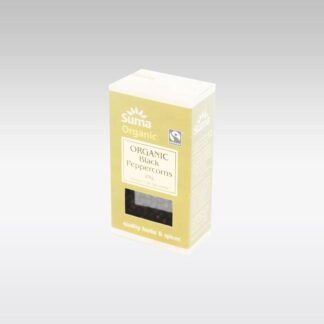 Suma Organic Black Peppercorns Whole 25g