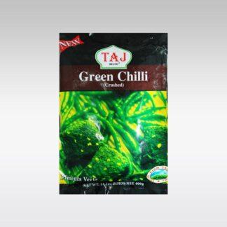 Taj Crushed Green Chillies 400g