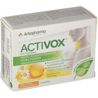 Activox® Halsschmerzen Honig-Zitrone Ohne Zucker