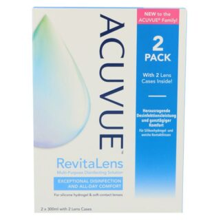Acuvue RevitaLens Doppelpack 2 x 300 ml All-in-One Lösung