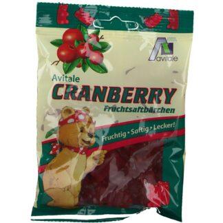 Avitale Cranberry Fruchtsaftbärchen