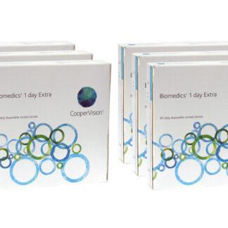 Biomedics 1 day Extra 2x270 Tagelinsen Sparpaket 9 Monate