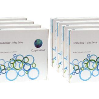 Biomedics 1 day Extra 2x360 Tageslinsen Sparpaket 12 Monate