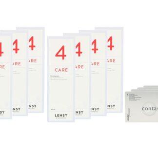 Contaview excellence toric UV 4 x 6 Monatslinsen + Lensy Care 4 Jahres-Sparpaket