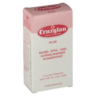 Cruzylan Plus Mund- Spül- und Gurgelwasserkonzentrat