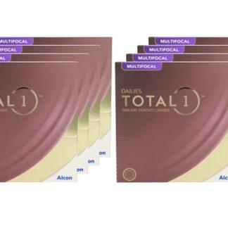 Dailies Total 1 Multifocal 8 x 90 Tageslinsen Sparpaket 12 Monate