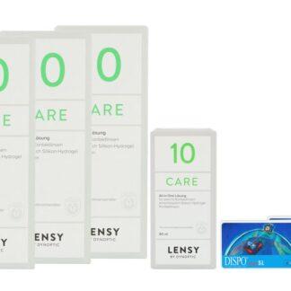 Dispo MultiSiL 2 x 6 Monatslinsen + Lensy Care 10 Halbjahres-Sparpaket
