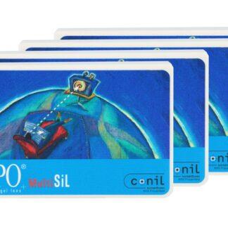 Dispo MultiSiL 4 x 6 Monatslinsen