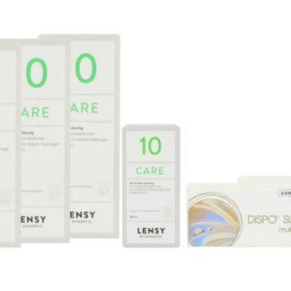 Dispo SL Multi 2 x 6 Monatslinsen + Lensy Care 10 Halbjahres-Sparpaket